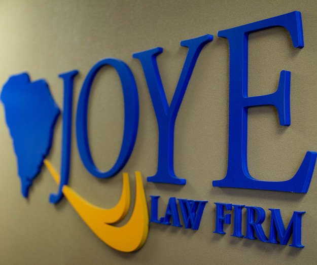 joye law firm sign