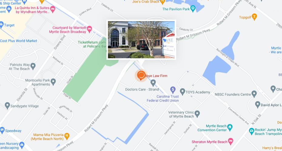 Joye Law Firm location